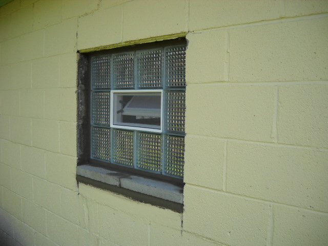 Glass Block Windows 8