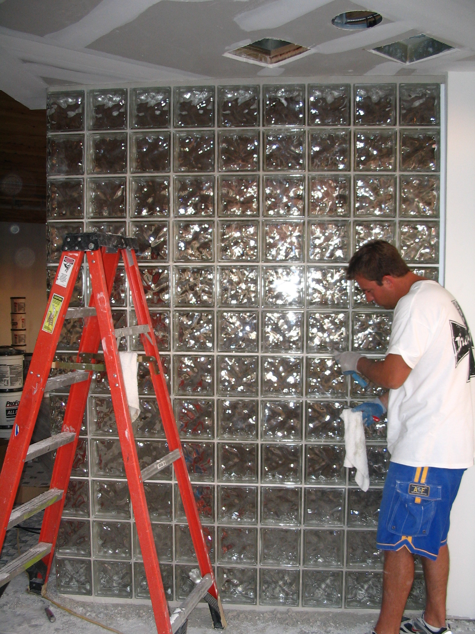 Glass Block Installer